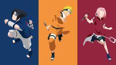= Naruto + Sasuke + Sakura [kid] minimalist design by Joosherino on DeviantArt