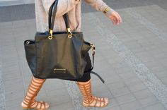 Marc Jacobs Too Hot To Handle Bag, Charlotte Russe Gladiator Sandals