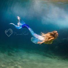Image may contain: 1 person Mermaid Pose, Siren Mermaid, Mermaid Art, Mermaid Paintings, Fantasy Mermaids, Mermaids And Mermen, Hawaiian Waterfall, Realistic Mermaid Tails, Real Life Mermaids