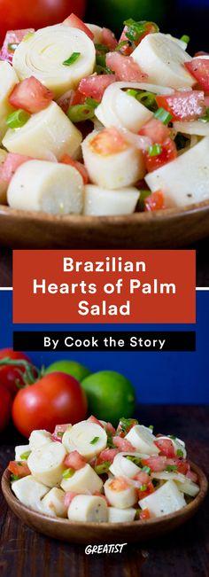 6. Brazilian Hearts of Palm Salad #healthy #Brazilian #recipes http://greatist.com/eat/brazilian-recipes-that-are-surefire-winners