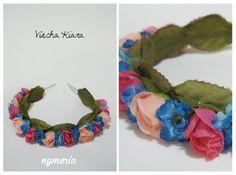 Catálogo de accesorios de la marca Nymeria - Vinchas de flores - Vinchas con Flores - Flower Crown - Flower Headband - Vincha Kiara