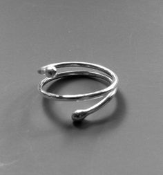 Handmade silver jewelry ring - Laura Teague Jewelry. $24.00 Www.LauraTeague.com