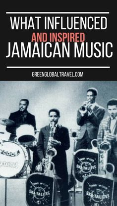 Learn about the influence and history of Jamaican music | culture | ska | reggae | hip-hop | Bob Marley | Wallers | Black Uhuru |