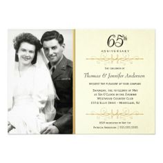 Elegant 65th Anniversary Invitations with Photo We provide you all shopping site and all informations in our go to store link. You will see low prices onDeals          Elegant 65th Anniversary Invitations with Photo Here a great deal...
