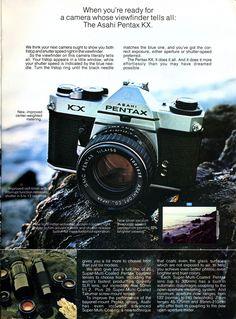 Honeywell / Asahi Pentax 5 page ad (1976)