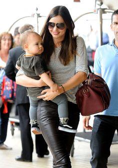 Miranda Kerr. She's the most #stylish mom ever!