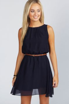 Frankie Sleeveless Chiffon Belted Skater Dress at boohoo.com navy, grape, black