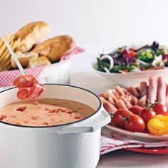 Fondue au fromage a l'italienne - Recettes - Cuisine et nutrition - Pratico Pratique
