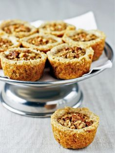 Pecan Tassies (made with real maple syrup) So good! http://www.hgtv.com/entertaining/fall-desserts/pictures/page-2.html?soc=pinterest