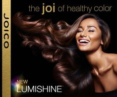 Joico lumishine color is the prettiest shinest hair color I've used