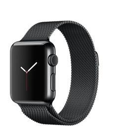 Apple Watch 38mm Space Black Stainless Steel Case with Space Black Milanese Loop $700.00