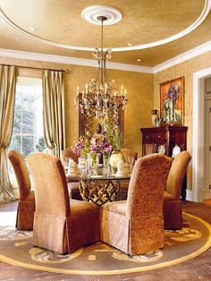 Dining decorating before and after room design interior home design house design Elegant Dining Room, Beautiful Dining Rooms, Dining Room Design, Dining Area, House Design Photos, Modern House Design, Home Interior Design, Interior Decorating, Design Interiors