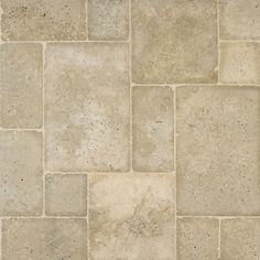 Outdoor Decking Mexican Noce Tumbled Travertine In Versailles Pattern From Arizona Tile It Consists Of Four Diffe Sizes And Is Sold Bundles