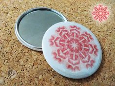 Items similar to Energy mandala mirror on Etsy Mandala Design, Buttons, Mirror, Trending Outfits, Unique Jewelry, Handmade Gifts, Etsy, Vintage, Kid Craft Gifts