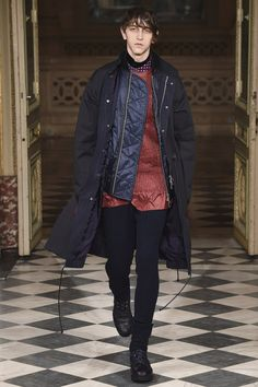 Sacai FW16.  menswear mnswr mens style mens fashion fashion style runway sacai