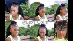 ♡ TnC - 54 ♡ Back to School - Kid Friendly Tribal Braid Crochet Style - YouTube