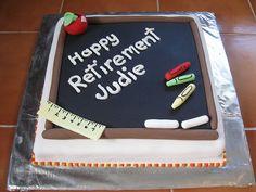 Teacher's Retirement Cake by Jeannette's Custom Cakes, via Flickr