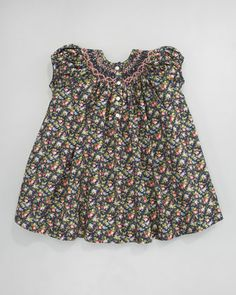 Ralph Lauren Childrenswear Smocked Floral-Print Dress - ...for my future granddaughter whenever that happens  :)