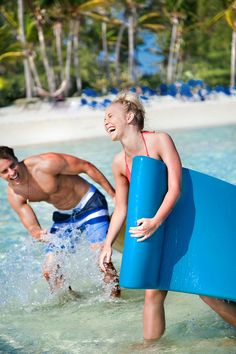 Float on. Plush foam mats are available for full-day rentals on CocoCay so you can take a break in-between splashing around.