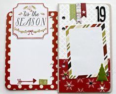 December Daily Ideas - Live The Moment: Paper Camellia December Days Christmas Countdown Mini Album