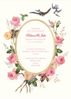 Esme by Octavia Plum - love the vibrant florals and the lovebirds