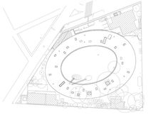 Tezuka Architects - Fuji Kindergarten Drawings 04 - Site Plan.jpg | por 準建築人手札網站 Forgemind ArchiMedia