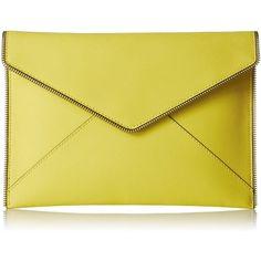 Rebecca Minkoff Leo Clutch ($59) ❤ liked on Polyvore featuring bags, handbags, clutches, rebecca minkoff purse, rebecca minkoff, rebecca minkoff handbags, rebecca minkoff clutches and beige purse