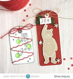 In My Creative Opinion: 25 Days of Christmas Tags - Day 19