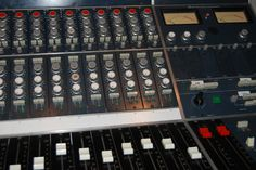 A truly classic Neve console