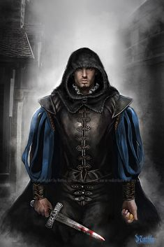 Vagen Thorensen. Half-Elven Rogue. Chaotic Neutral.  Oft time companion of Gawain.  You can trust him with everything but your purse.