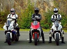 Friends ride together