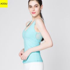 6f0a9cb369491 Wholesale Custom cheap dry fit high quality fitness tank top for women