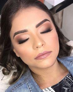 Glam Makeup, Hair Makeup, Wedding Eye Makeup, Bridal Makeup Looks, Make Up Looks, Eye Makeup Remover, Eyeshadow Makeup, Makeup Names, Make Up Braut