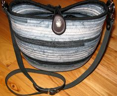 Handmade Crossbody Bag Purse Tote Bag by KreativityAbounds on Etsy, $145.00