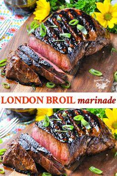 Steak Marinade Recipes, Pork Roast Recipes, Grilling Recipes, Meat Recipes, Cooking Recipes, Meat Marinade, Budget Cooking, Vegetarian Cooking, Paleo Recipes