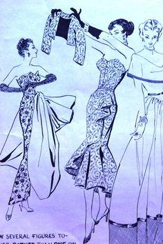 Evening Dress pattern