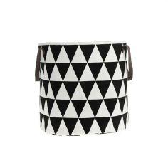Ferm Living Aufbewahrungskorb Basket, Triangle #artvoll #Colors #Black #Schwarz #AllesIn www.artvoll.de