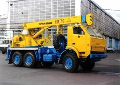 Commercial Vehicle, Classic Trucks, Heavy Equipment, Crane, Construction, Memories, Vehicles, Building, Souvenirs