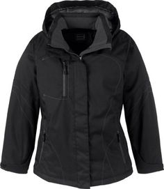 North End Womens Two-Tone Textured Insulated Water Proof Jacket Coat with Hood North End. $99.95
