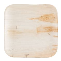 "The Eco-gecko sustainable 10"" square palm leaf plate is an environmentally-friendly way to serve your culinary creations in a variety of venues. All Eco-gecko products are 100% natural, biodegradable, and compostable, and are an excellent, eco-friendly substitute for products made from foam and plastic! Each 10"" plate is made out of renewable fallen palm leaves! In addition to its natural beauty, this material breaks down quickly in landfills and composters for further recycling of a great…"