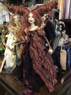 Beyond Blood Wood ; OOAK sculpture by Rachel Oakes