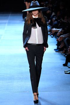 The ultimate antidote to the Birkin cult: Saint Laurent Spring 2013 by Hedi Slimane