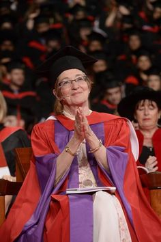 #MaudeBarlow at #YorkU's #2014 #convocation