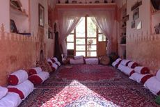 Ateshooni Hostel in Garmeh is a desert hostel in Iran. This hostel is located in the middle of deserts in Iran neighboring Yazd and Isfahan. The accommodation experience at this hostel in Garmeh is most authentic and memorable. The guests staying at this hostel get to take memorable Iran desert tours on camels.