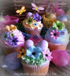 Pasen cupcakes | Algemeen recept: http://www.jouwwoonidee.nl/paascupcakes/