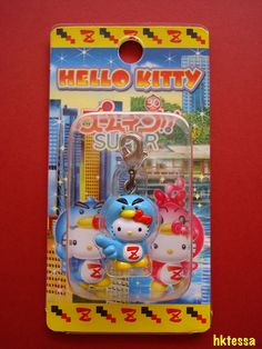 Hello Kitty Morning TV Program 'Zoom in Super' Zoomin limited mascot-2008.