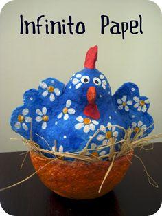 Infinito Papel: papel mache