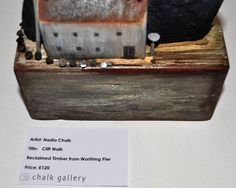 Cliff top by NADIA CHALK  Days Out in Brighton - Brighton Art Fair highlights 2016