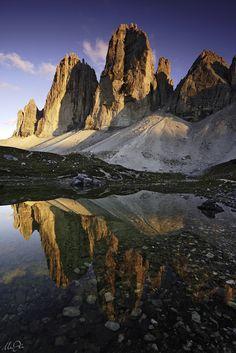 Soulful Emotion      Laghi della Grava Longa  Dolomiti di Sesto (BZ)  Dolomites  (by Marco Dian)