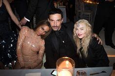 Beyoncé, Riccardo Tisci, and Madonna